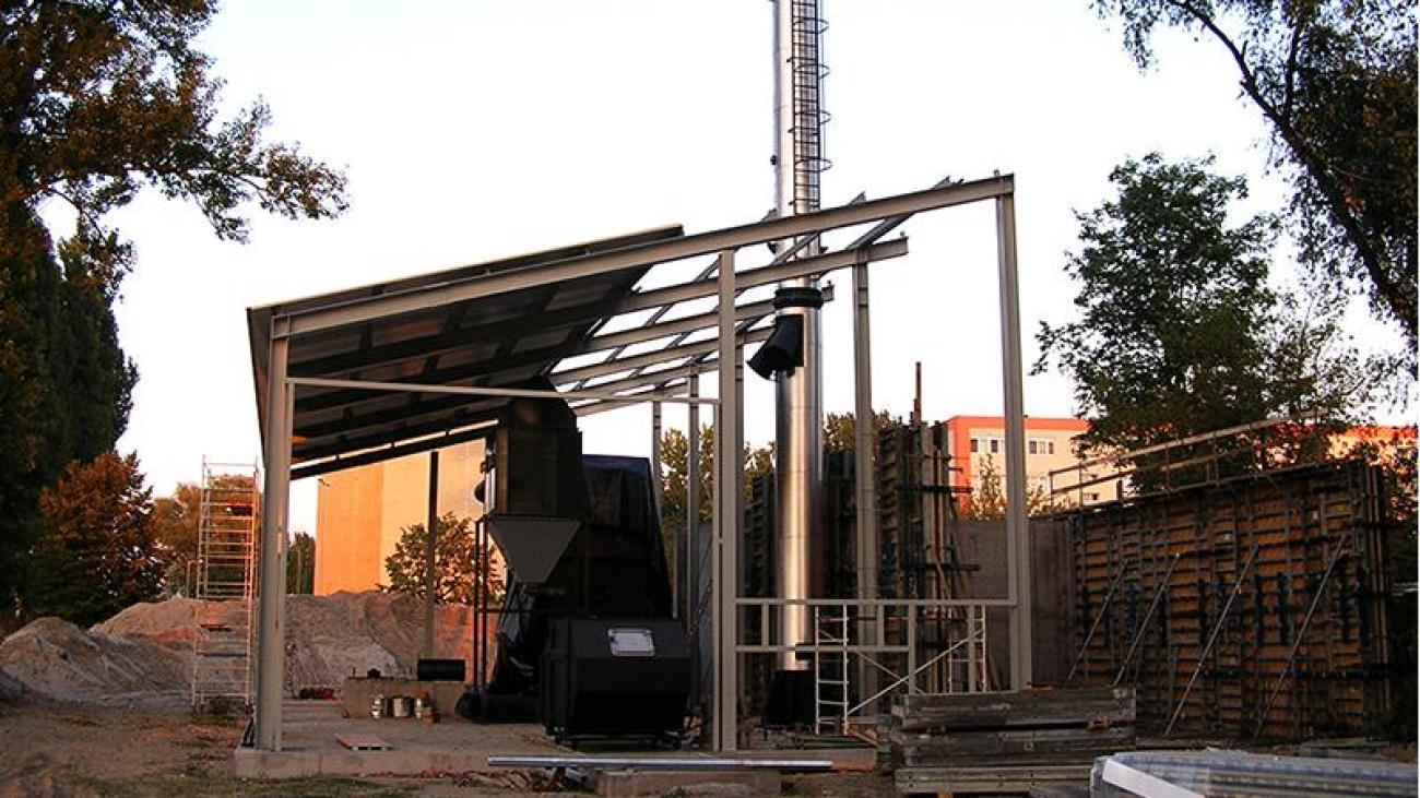 Bajai biomassza fűtőmű