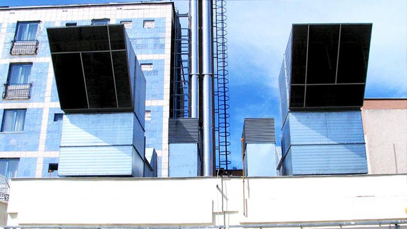Szálloda és közintézmények hőenergia ellátása Egerben