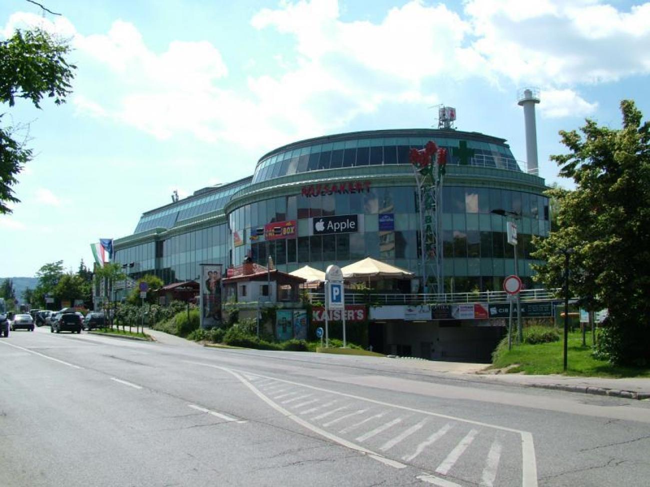 16.000 m²-es Rózsakert bevásárlóközpont helyi energiaellátása